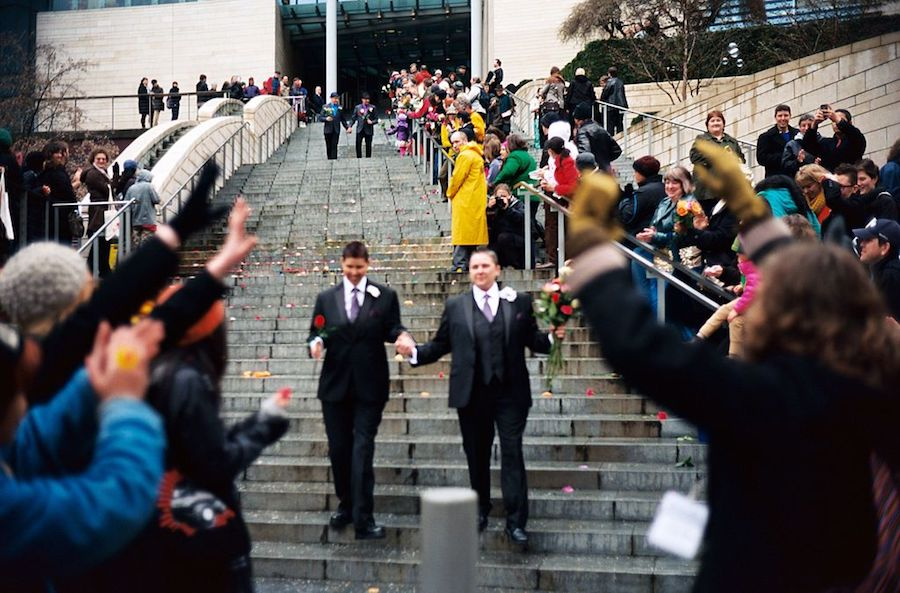 Leaving_Seattle_City_Hall_on_first_day_of_gay_marriage_in_Washington_2 2