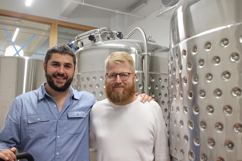 創業者の2人、ブライアン・ポーレン(左)とブランドン・ドーン .jpg IMG_2865